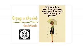 Lyrics + Vietsub    Crying in the Club    Camila Cabello