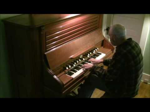 Pachelbel Hymn on Vertical Action Reed Organ