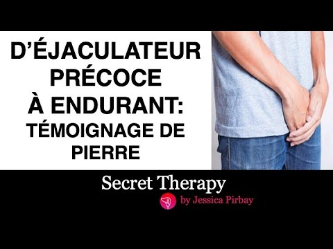 D' éjaculateur précoce à endurant - témoignage de Pierre from YouTube · Duration:  9 minutes 45 seconds