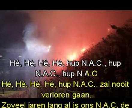 NAC Breda clublied (Karaoke)