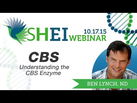 CBS SNP? CBS Upregulation? CBS and Sulfur? - Dr Ben Lynch