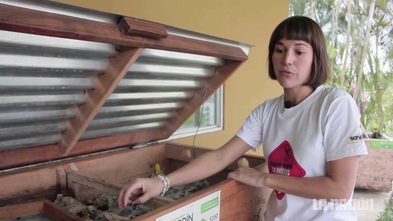 C mo hacer una compostera youtube - Como hacer una claraboya ...