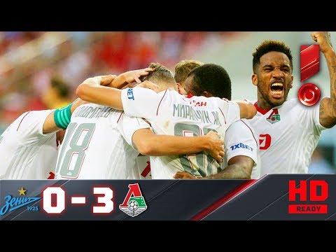 29.10.2017г. Зенит - Локомотив - 0:3. Обзор матча