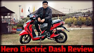Hero Electric Dash Full Detailed हिन्दी Review With Test Ride