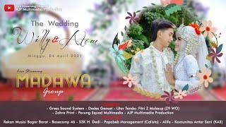 Live Streaming - MADAWA Music - Wedding WILLY & ATEM - Malam