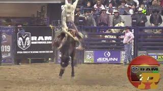 Clay Elliott's INSANE Saddle Bronc Ride in Denver