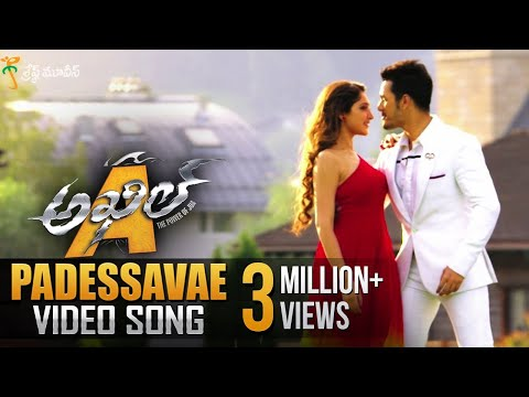 Padessavae Full Video Song || Akhil Movie Video Songs || Akhil Akkineni, Sayyeshaa