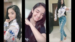 Anushka sen tik tok videos baal veer mehar latest funny musically videos 2018 video