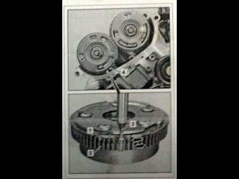 Cборка выпускной звезды ванос VVT муфты распредвала Mercedes мотор М272