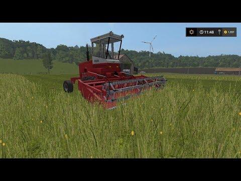 Mowing grass | Small Farm | Farming Simulator 2017 | Episode 16