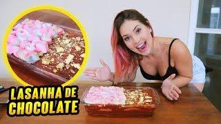 COMO FAZER A MELHOR LASANHA DE CHOCOLATE DO MUNDO?!!! (INÉDITO)