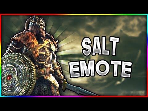 The Most Disrespectful Emote  For Honor Salt Emote