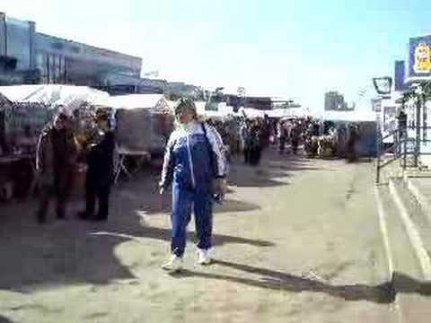 Kazan, Tatarstan, Russia - Privolzhsky Market