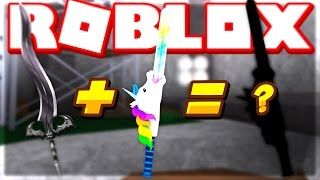 CRAFTING THE DARK HORSE MYTHIC KNIFE!! (Roblox Assassin)
