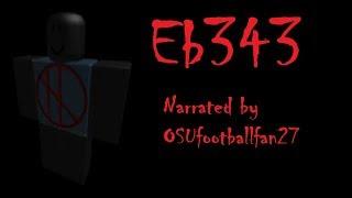 Eb343 [ROBLOX CREEPYPASTA]