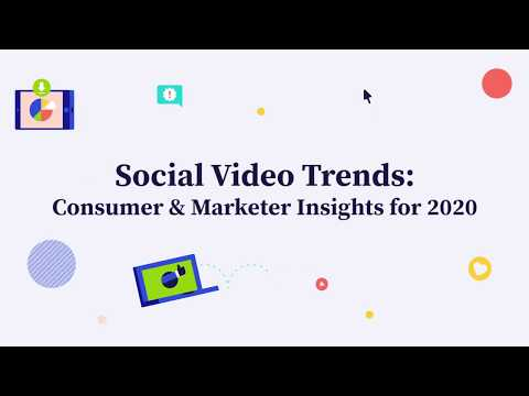 Animoto Social Video Trends Report Forecasts Growing Demand for Video Marketing in 2020