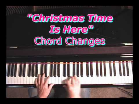 Christmas Time Is Here - Chord Changes