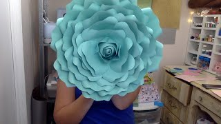 Paper Flower with Cricut Design Space