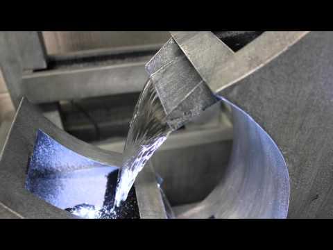 Trento Zinc Metal Water Feature