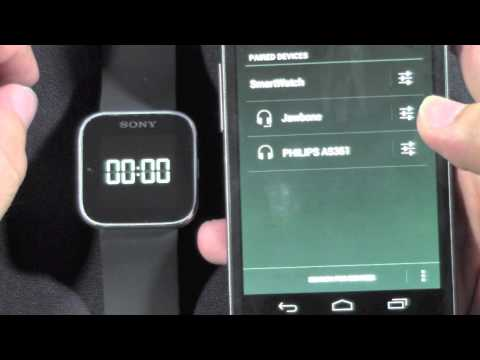 sony-smartwatch:-how-to-pair-with-android-phone​​​-|-h2techvideos​​​