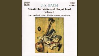 Sonata No. 3 for Violin & Harpsichord in E Major, BWV 1016: I. Adagio