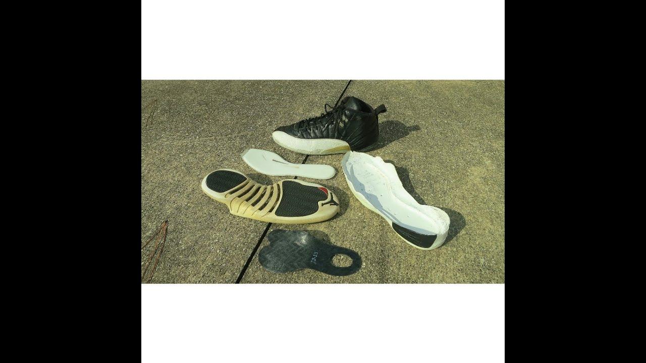 e0803ef1d Sneaker Tech Review  11- Air Jordan Retro 12 Playoffs (Reverse ...