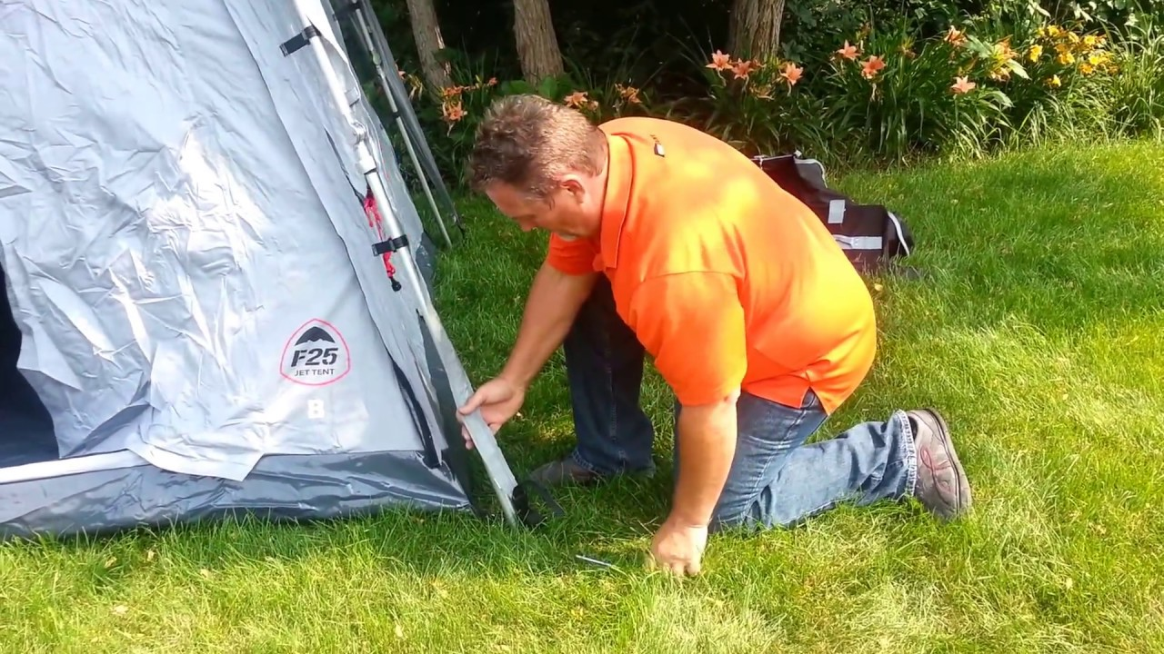 Setting Up the Jet Tent F25 : jet tent f25 - memphite.com