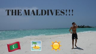 THE MALDIVES!!!
