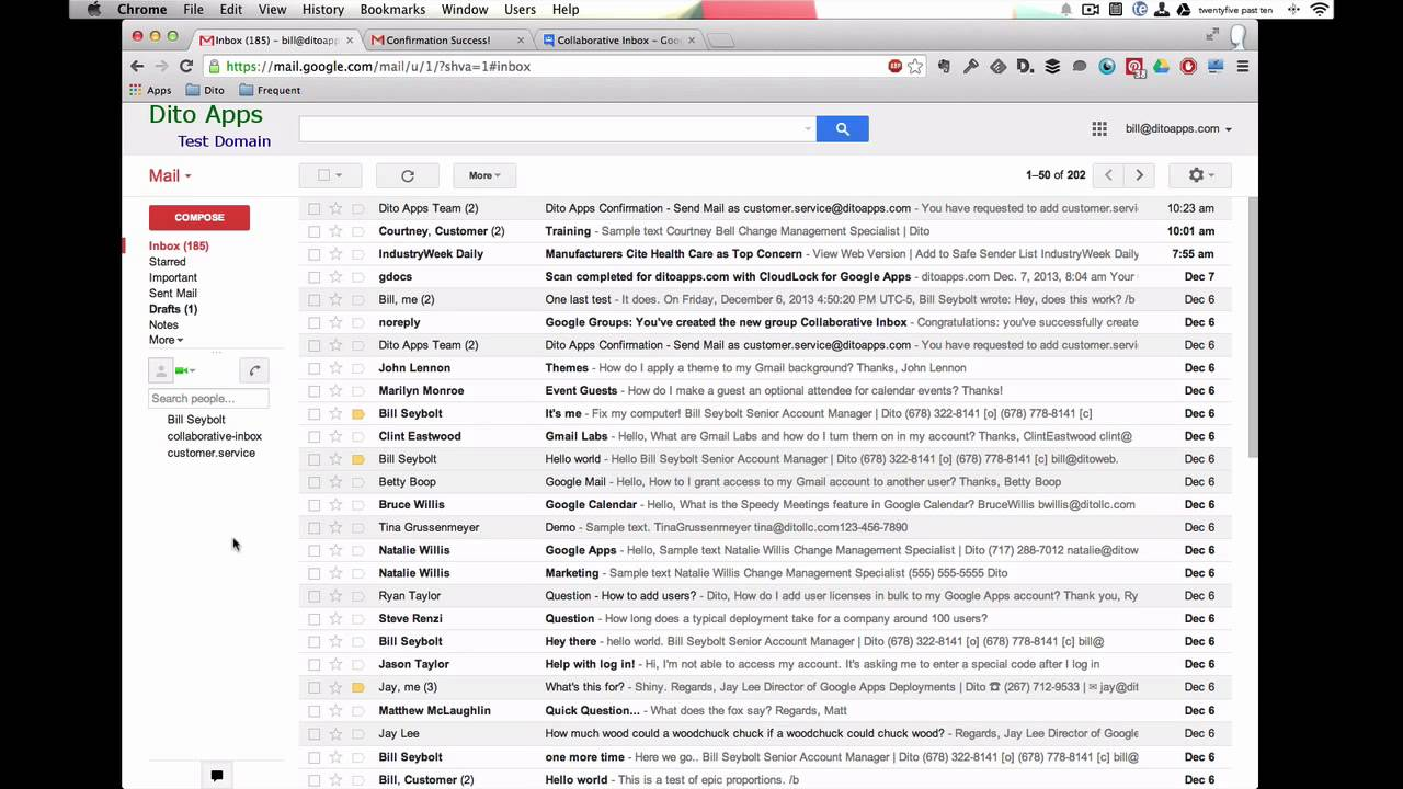 How to create group email in gmail app