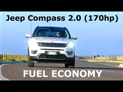 2017 jeep compass 2 0 170hp fuel economy youtube. Black Bedroom Furniture Sets. Home Design Ideas