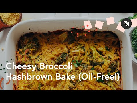 Cheesy Broccoli Hashbrown Bake (Oil-Free) | Minimalist Baker Recipes