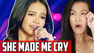 Zephanie Dimaranan - Huwag Ka Nang Umiya Reaction | Zeph Made Me Cry From Idol Philippines 2019