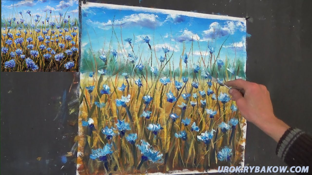 Free full oil painting lesson how to paint flowers for How to paint flowers with oil paint