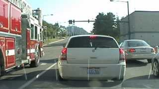Fire Department above traffic laws in Youngstown , OH