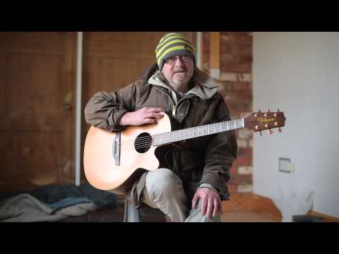 Former rock star Mervyn Spence with a message and a protest song for Nationwide