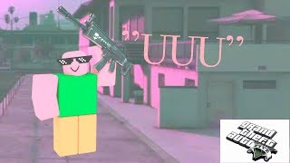 This Happens When You Combine RoBLoX Uuu WITH GTA 5 FREE MODE