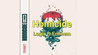 [和訳]  Logic ft.Eminem - Homicide