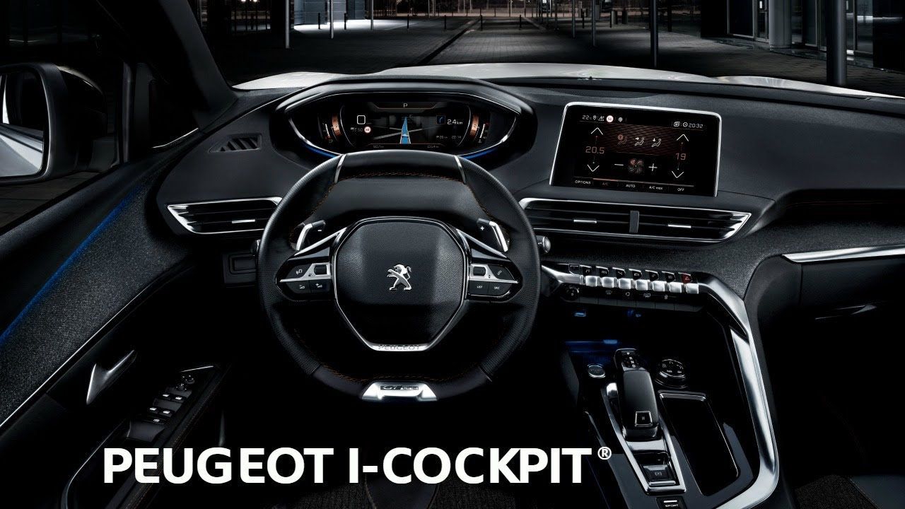 i cockpit suv peugeot 3008 youtube. Black Bedroom Furniture Sets. Home Design Ideas