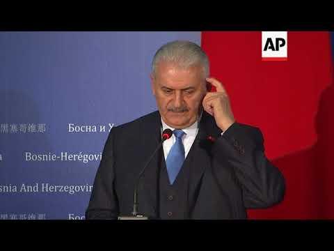 PM Yildirim meets Bosnian counterpart, comments on FETU movement