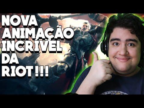 REAGINDO A NOVA ANIMAÇÃO DA RIOT GAMES! DARIUS VS ZED, TRAILER INCRÍVEL DE LANÇAMENTO DO LOR!!!