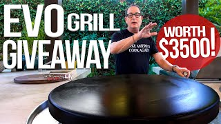 I'm GIVING AWAY a $3500 Grill | SAM THE COOKING GUY 4K (GIVEAWAY OVER)