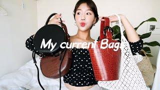 패션 하울➰DAILY  BAGS요즘 자주 가지고 다니는…