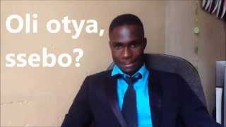 """Learn Luganda - Lesson 1 """"Greetings and Goodbyes"""""""