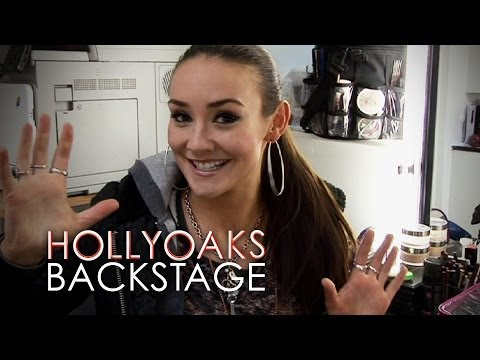 Claire Cooper's Last Day at Hollyoaks