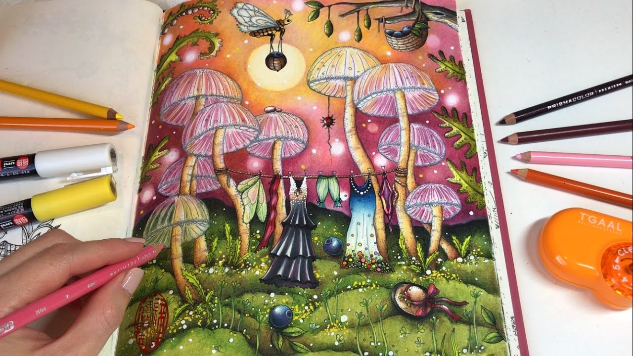 Magical Delights Carovne Lahodnosti Coloring Book By