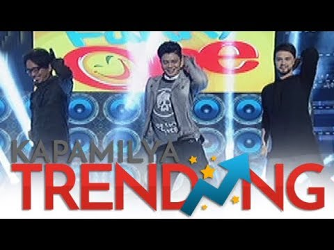 Jhong, Vhong and Billy in a sexy dance intro on It's Showtime!
