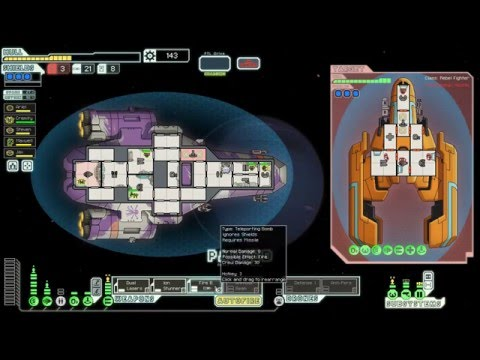 Let's play FTL: part 51 - Pirate life for us