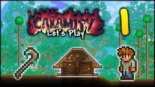 A HUGE New Terraria Series! | Let's Play Terraria Calamity Modded [Episode 1]