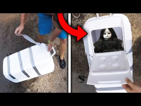 Top 5 Craziest Things YOUTUBERS FOUND UNDERWATER!