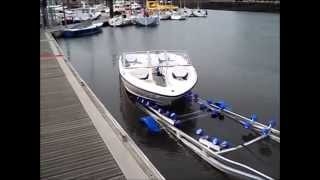 Gambar cover Boat Recovery - super quick and easy all tides recovery with Multi Glide Roller Bunks